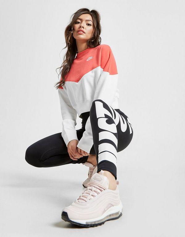 0bcebaa1 NIKE Nike Sportswear Heritage Women's Fleece Crew | JD Sports