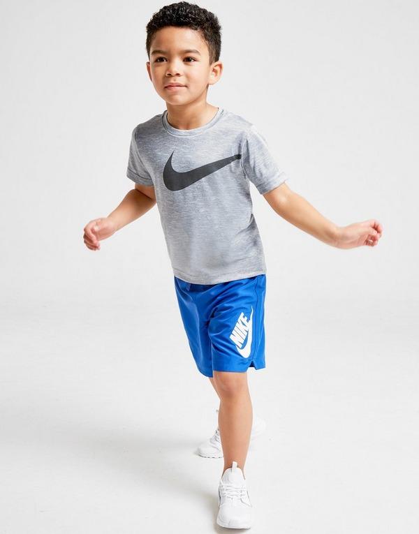 Køb Nike Sportswear Woven Shorts Børn i Blå | JD Sports