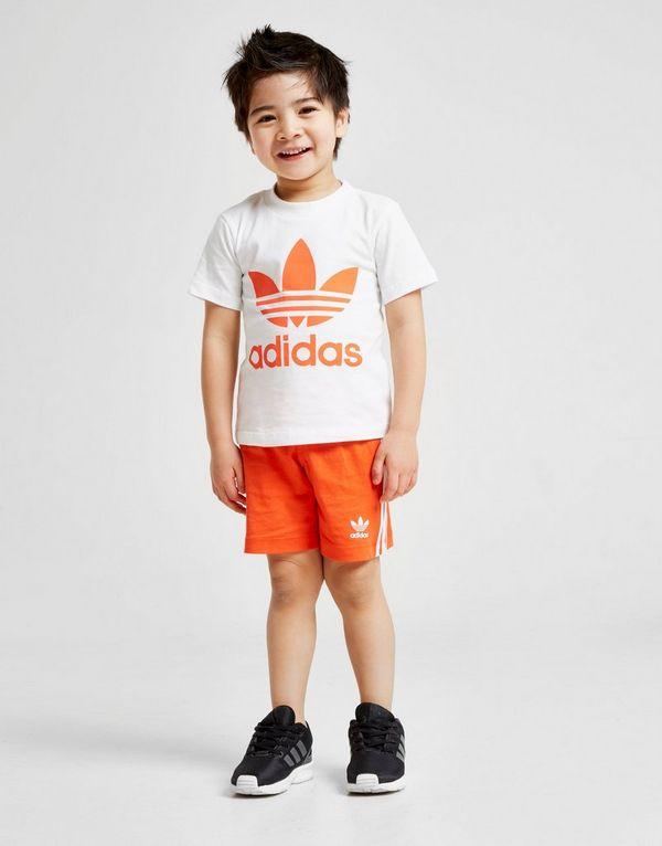 3337949f3 adidas Originals conjunto pantalón camiseta Adicolour para bebé