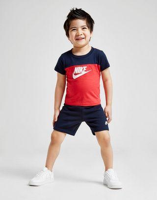 hermoso estilo mejor servicio venta caliente más nuevo Nike conjunto camiseta/pantalón corto Futura Colour Block ...