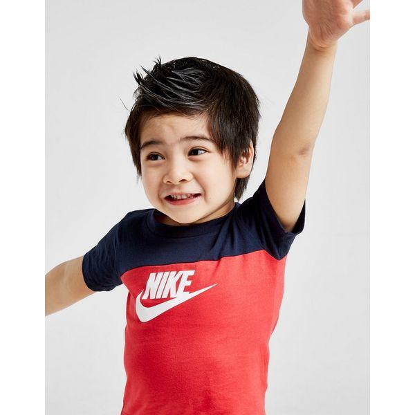 Nike Futura Colour Block T-Shirt/Shorts Set Infant