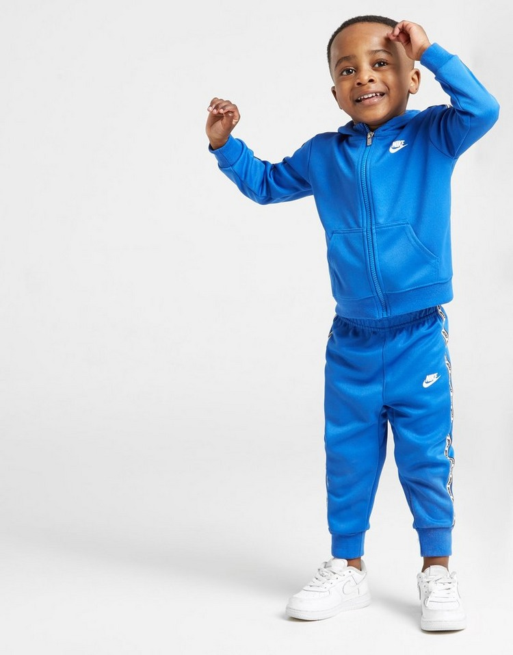 Nike Repeat Tape Poly Full Zip Suit Infant