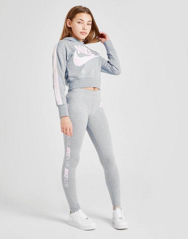 4107a25847ad Nike Girls  Air Crop Hoodie Junior