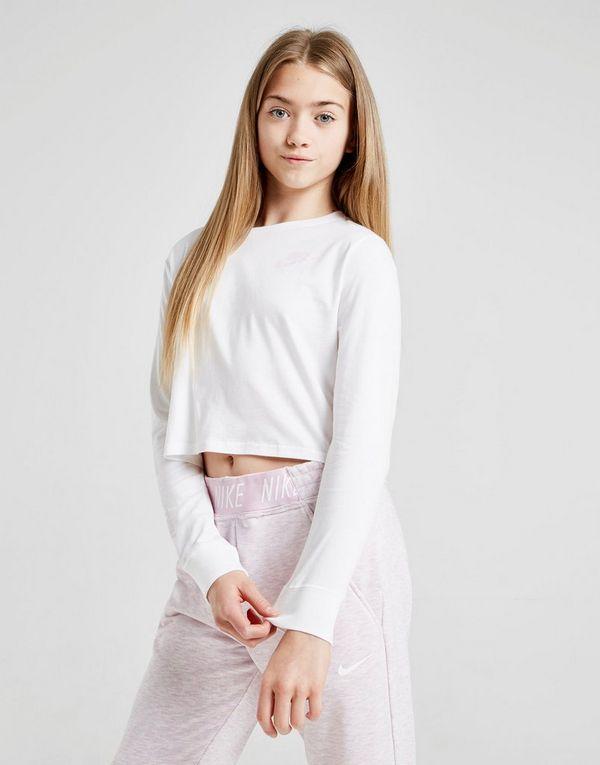 09c2c830 NIKE Nike Air Older Kids' (Girls') Long-Sleeve Crop Top | JD Sports