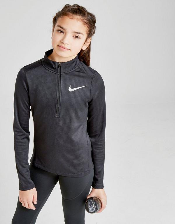Nike Girls' Run 1/4 Zip Track Top Junior
