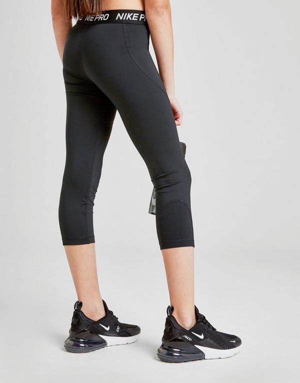 Nike Pro Girls' Capri Tights Junior