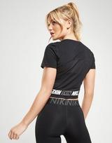 Nike T-Shirt Crop Entraînement Sport District Manches Courtes Femme