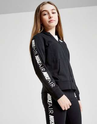 b75d7d4af Nike Girls' Air Full Zip Hoodie Junior | JD Sports
