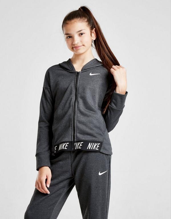 Acherter Noir Nike Sweat à capuche Studio Zippé Fille Junior