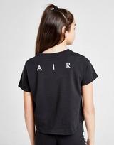 Nike Air Girls' Crop T-Shirt Junior