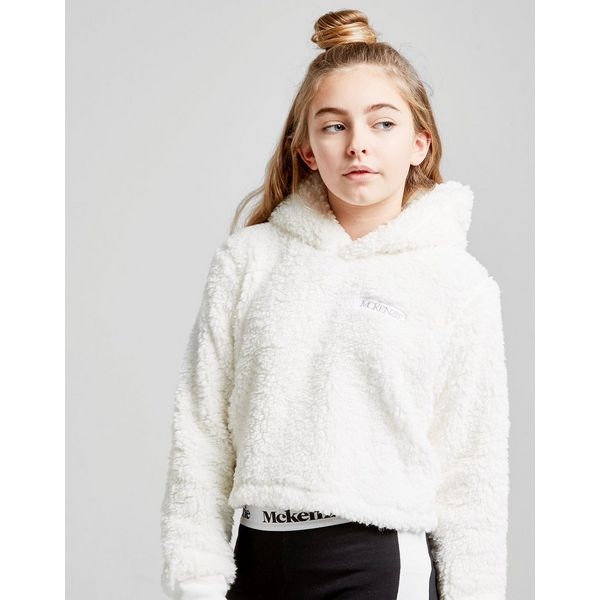 McKenzie Girls' Romy Sherpa Crop Hoodie Junior