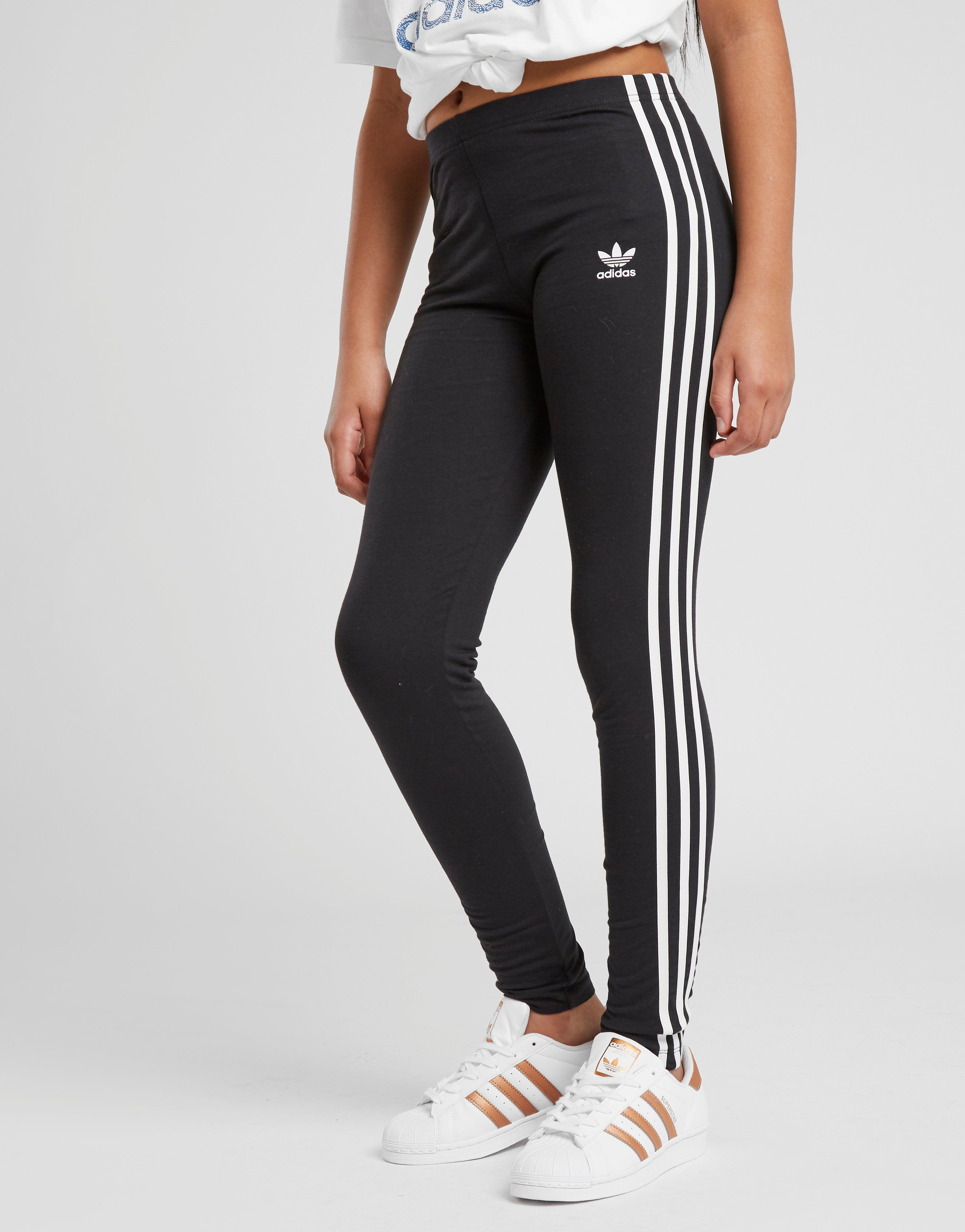 3aa21cc6748 adidas Originals Girls' Trefoil 3-Stripes Leggings Junior | JD Sports