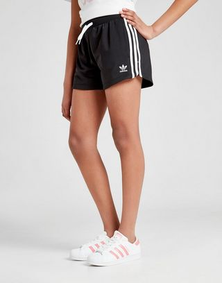 adidas Originals Girls' 3 Stripes Shorts Junior | JD Sports