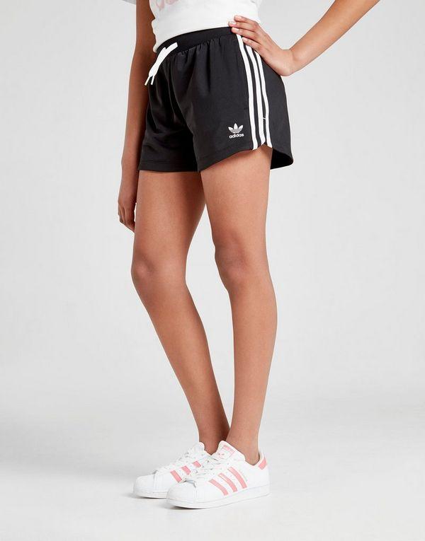adidas Originals Girls' 3 Stripes Shorts Junior   JD Sports