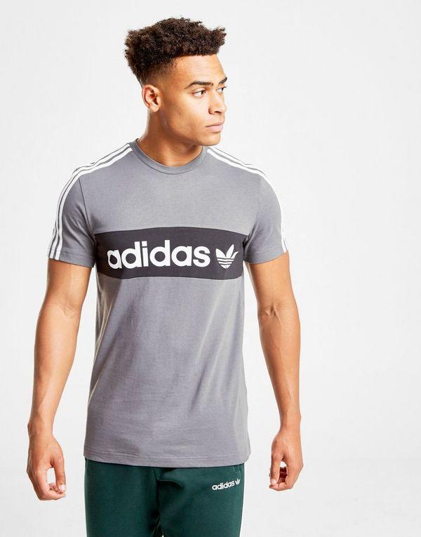 3e5341f49 adidas Originals Trefoil Linear T-Shirt | JD Sports