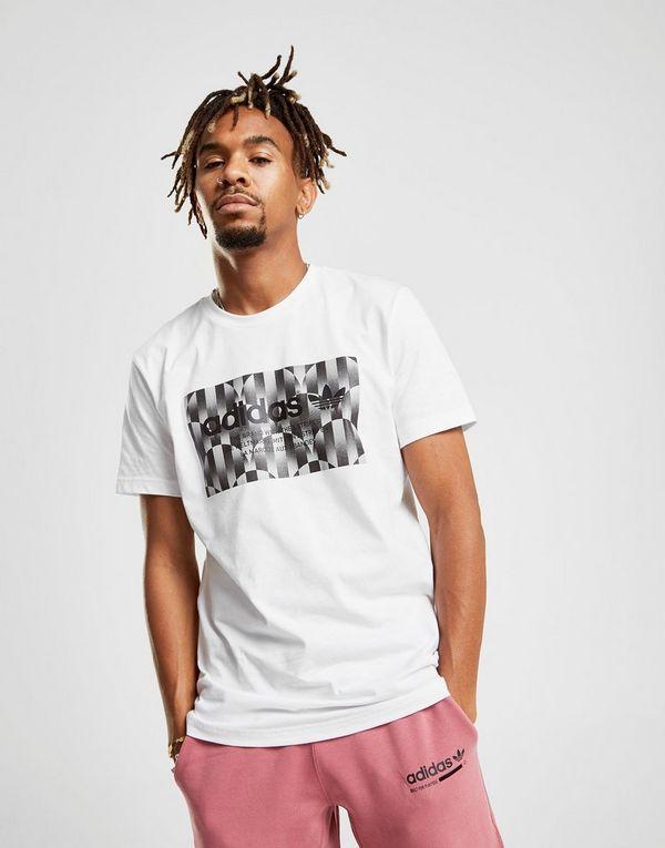 8f4263b0 adidas Originals Trefoil Reflective T-Shirt Herre | JD Sports