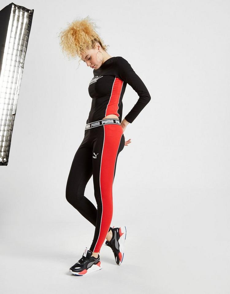 PUMA Script Panel Long Sleeve Bodysuit