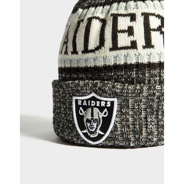 sports shoes 5a7ac c4e03 ... New Era NFL Sideline Oakland Raiders Beanie ...
