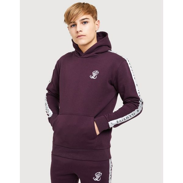 Fleece JúniorJd Capucha London Illusive Con Tape Sudadera Sports XPkiOZu