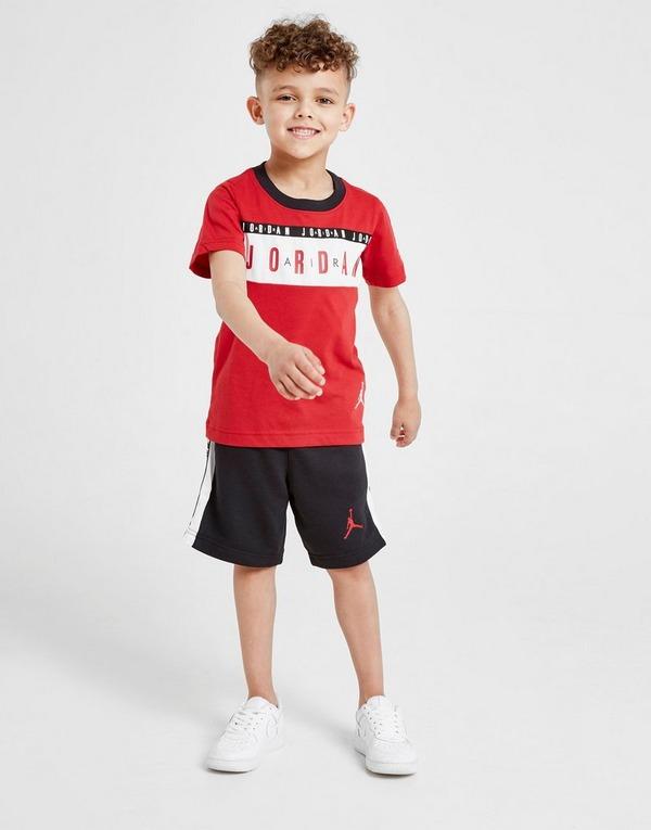 Acheter Red Jordan Ensemble T shirtShort Air Enfant   JD Sports