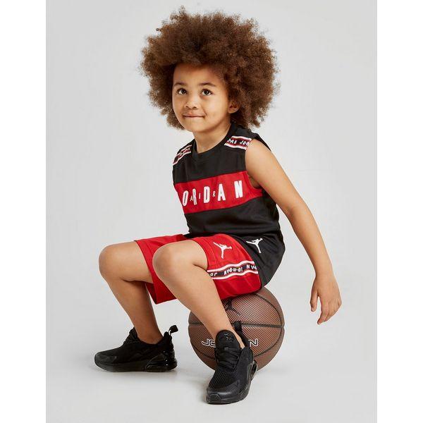 Jordan Tape Vest/Shorts Set Children