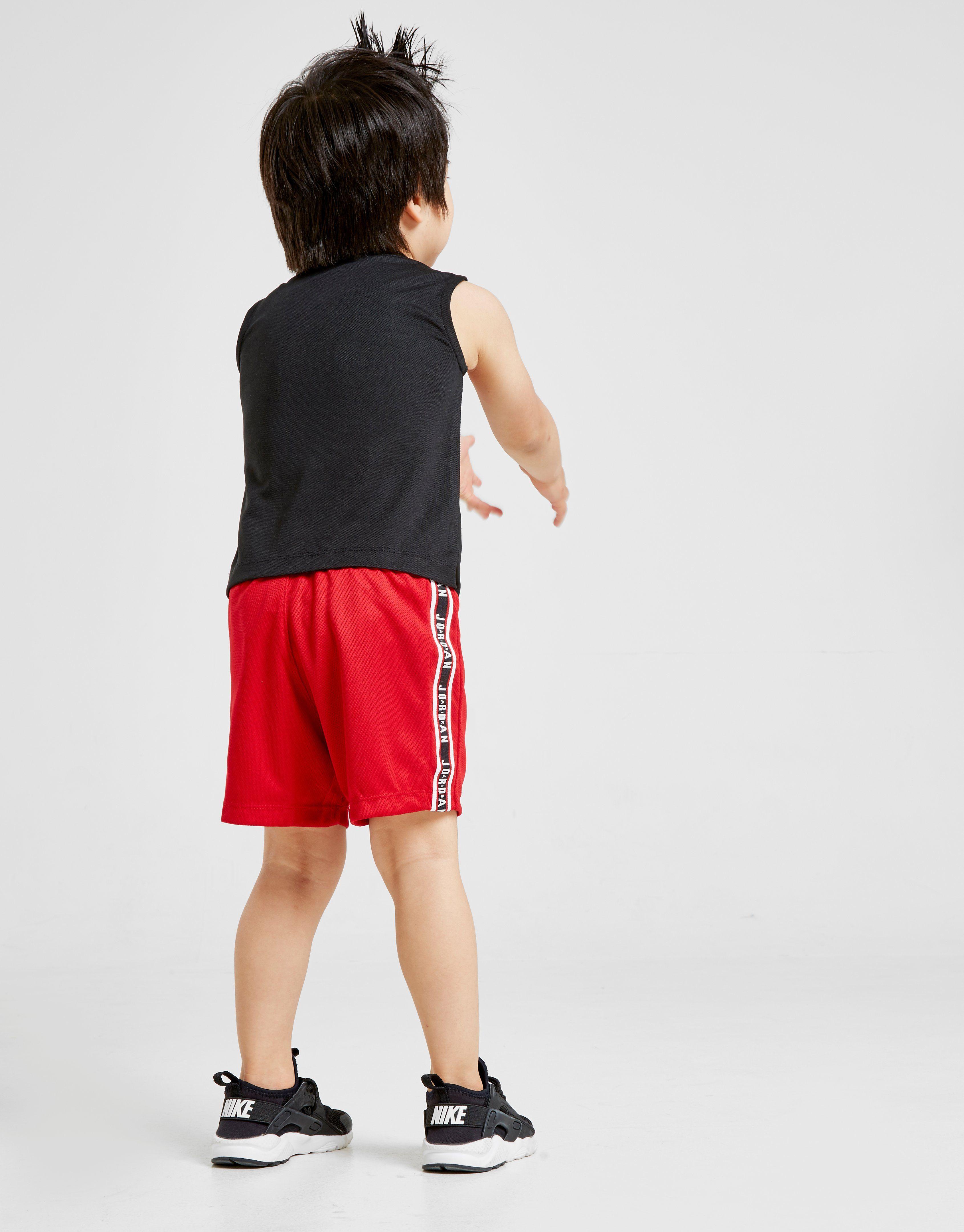Jordan Tape Muscle Vest/Shorts Set Infant