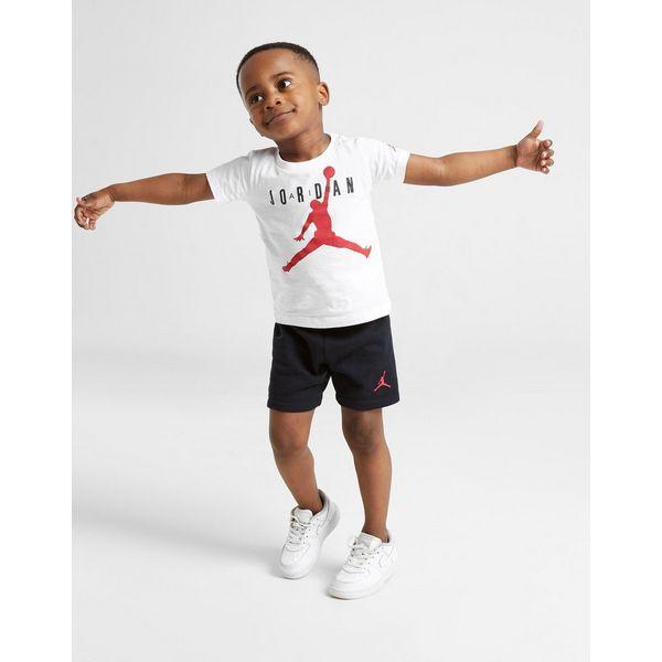Jordan Air conjunto camiseta y pantalón corto para bebé