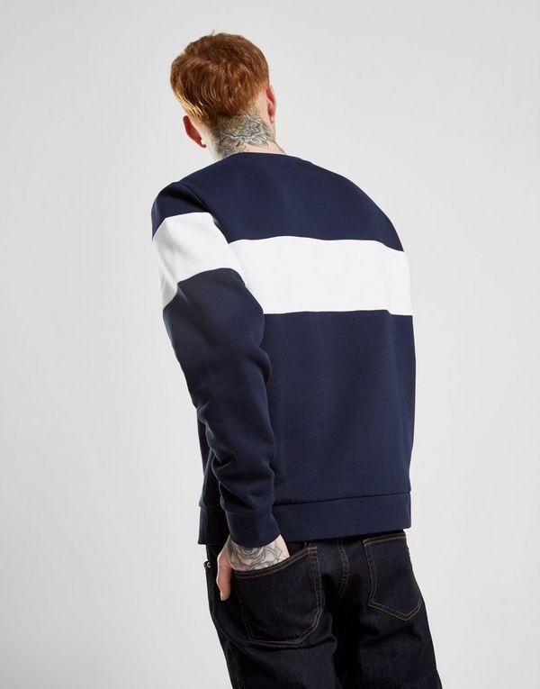 04c15b04028 Lacoste Central Panel Crew Sweatshirt