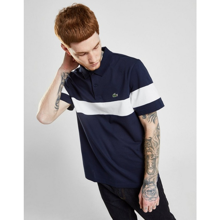 Lacoste Central Panel Polo Shirt Heren