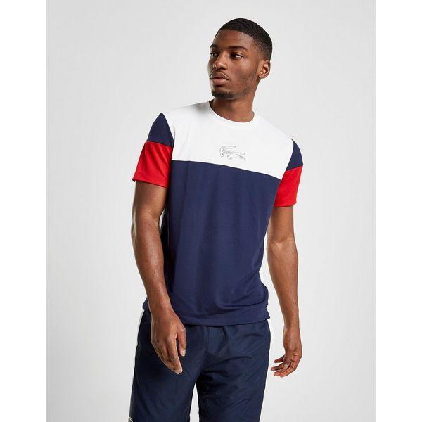 Lacoste Colour Block Short Sleeve T-Shirt