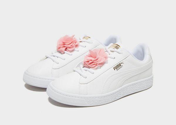 buy online 2a966 9276b PUMA Basket Flower Children
