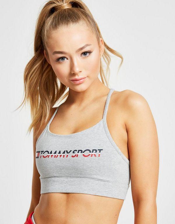 Tommy Hilfiger Sport Cotton Cross-Back Sports Bra