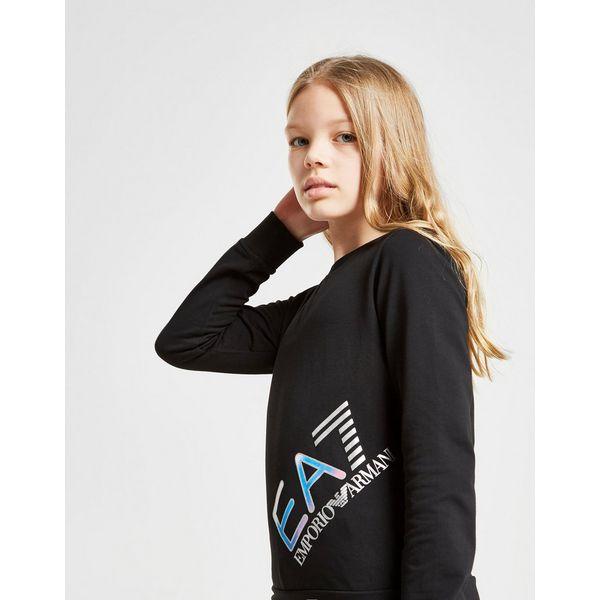 Emporio Armani EA7 Girls' Training Logo Tracksuit Junior