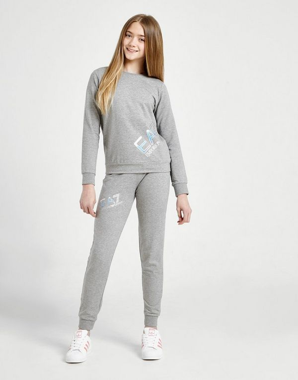 dcde1e0e Emporio Armani EA7 Girls' Training Logo Tracksuit Junior | JD Sports