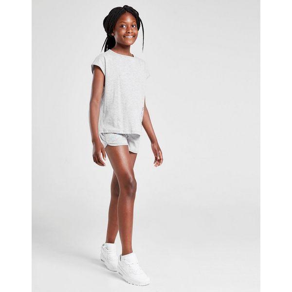 Emporio Armani EA7 Girls' Training Logo Shorts Junior