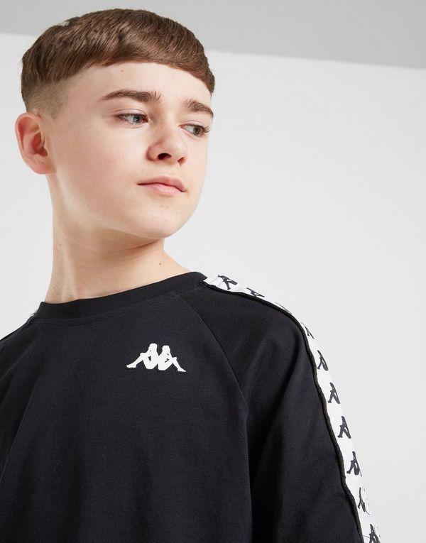 Kappa Coen Tape T-Shirt Junior