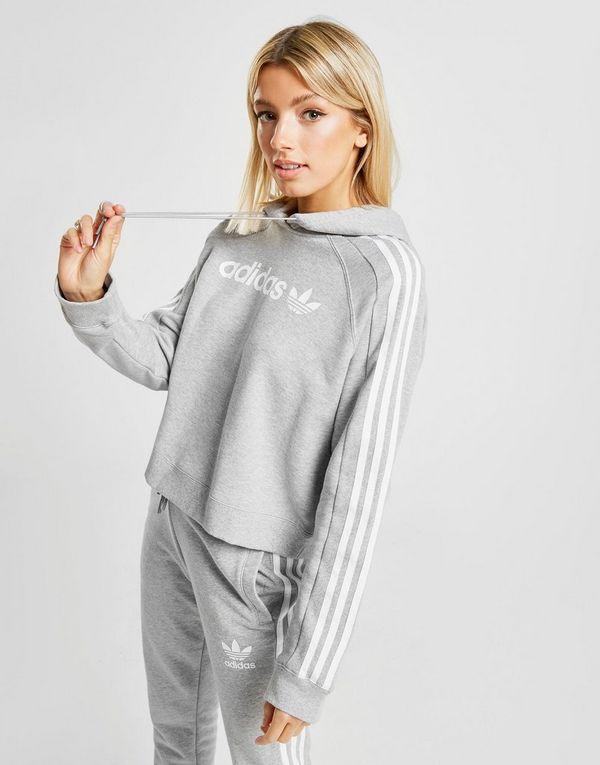 2dad02af adidas Originals 3-Stripes Linear Overhead Hoodie | JD Sports
