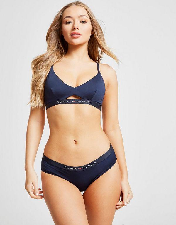ab875bec Tommy Hilfiger Swim Bikini Top | JD Sports