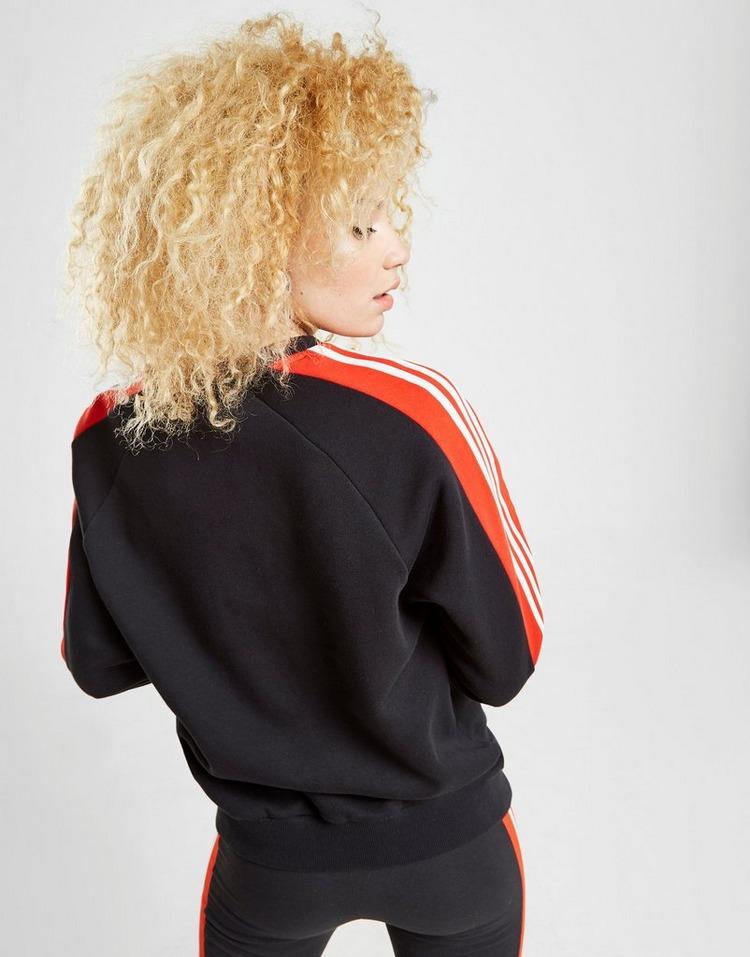adidas Originals 3-Stripes Panel Crew Sweatshirt   JD Sports