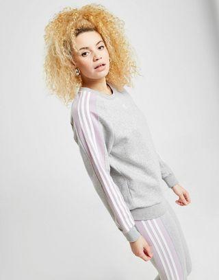 adidas Originals 3-Stripes Panel Crew Sweatshirt Dames | JD ...