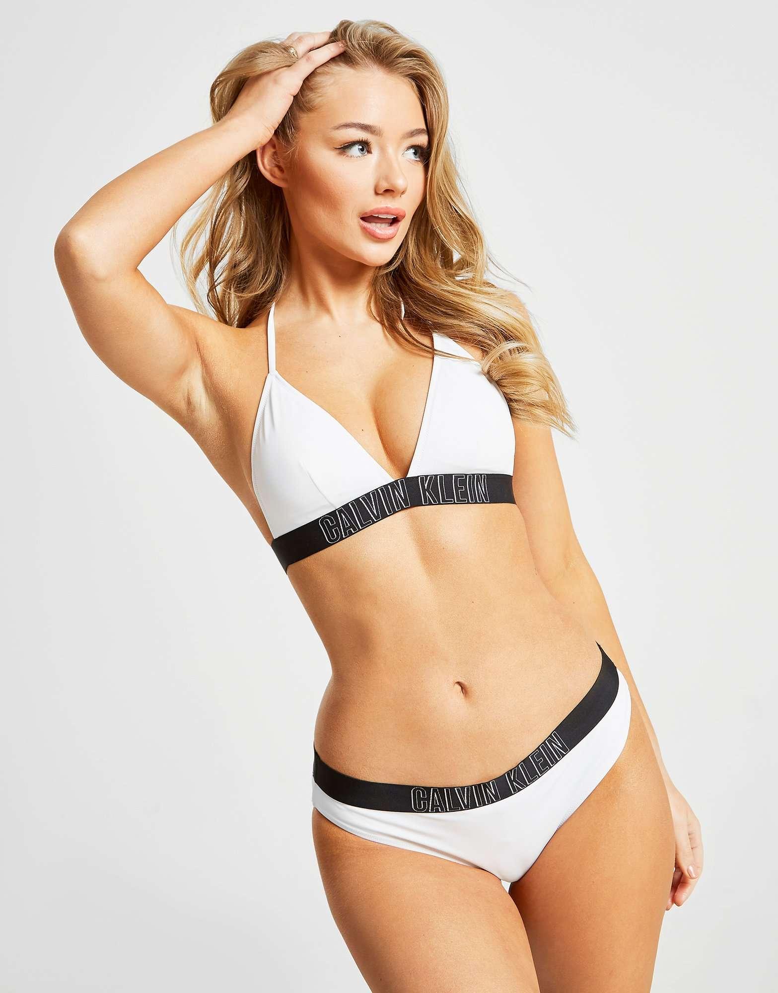 Calvin Klein Logo Hip Bikini Bottoms