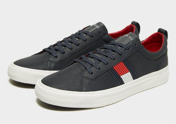 ea421fee0 Tommy Hilfiger Flag Detail Leather