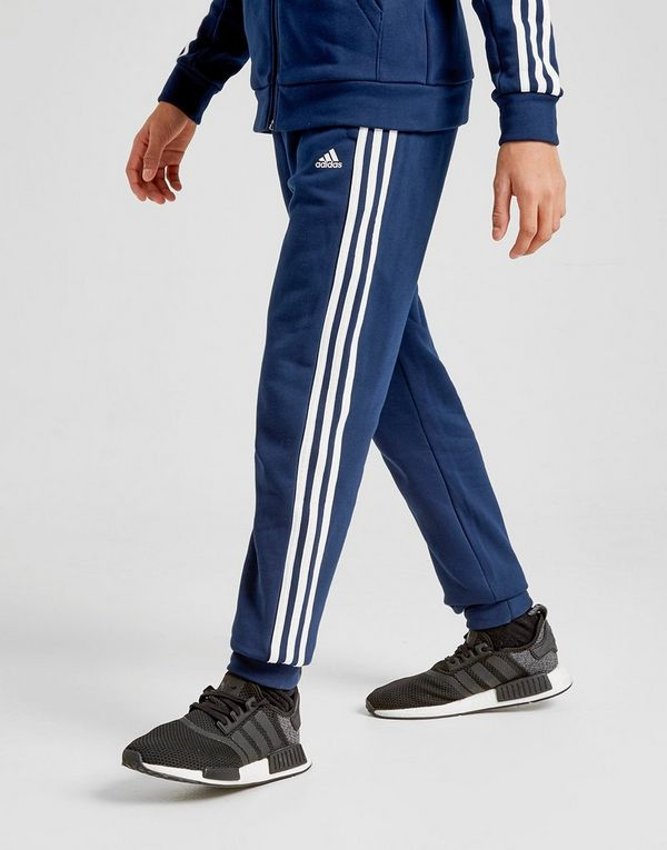adidas Badge of Sport 3 Stripes Fleece Joggers Junior | JD