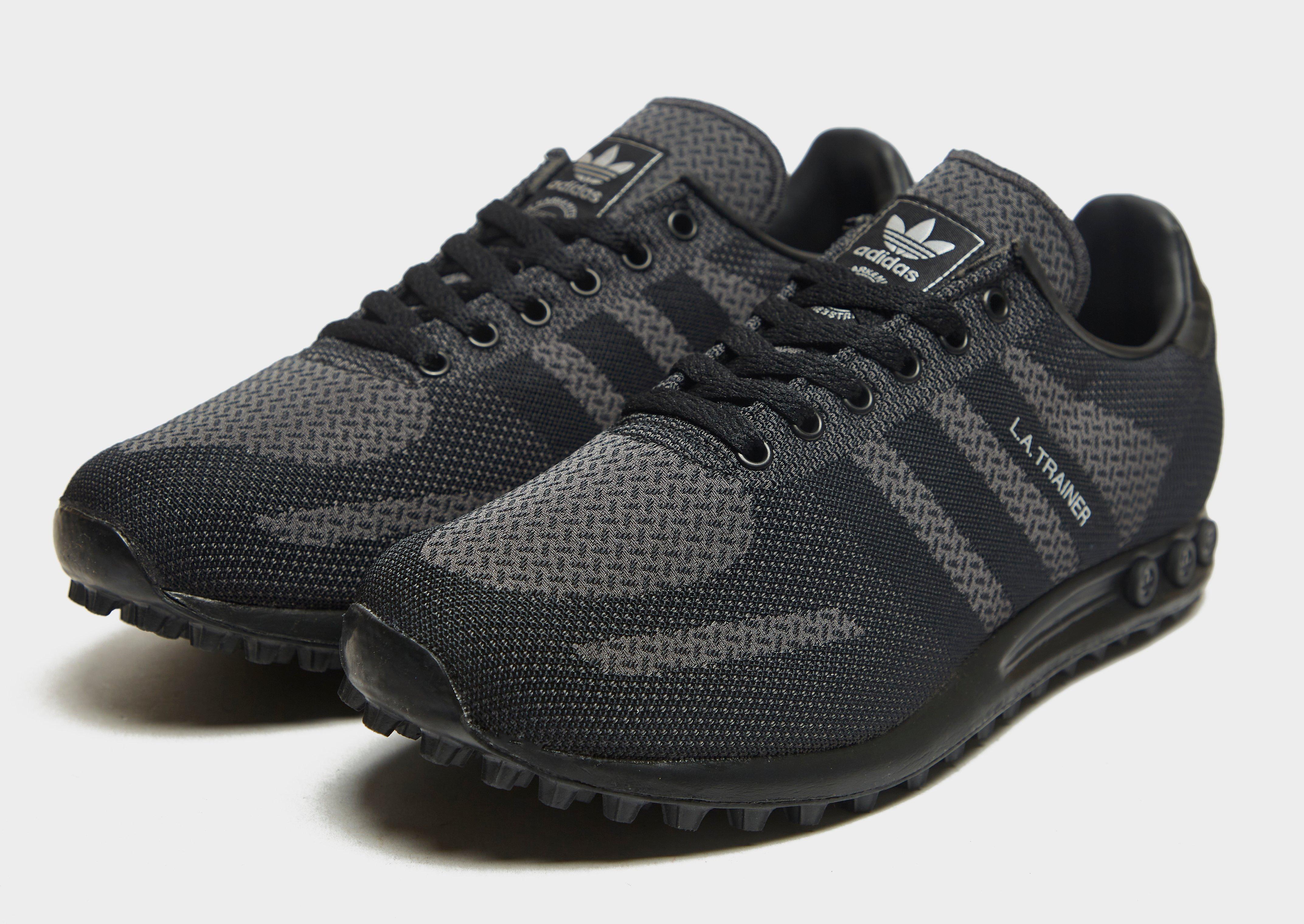 la trainer adidas nere