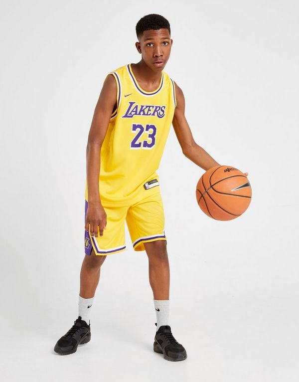 e6690c50c Nike NBA Los Angeles Lakers James #23 Jersey Junior | JD Sports