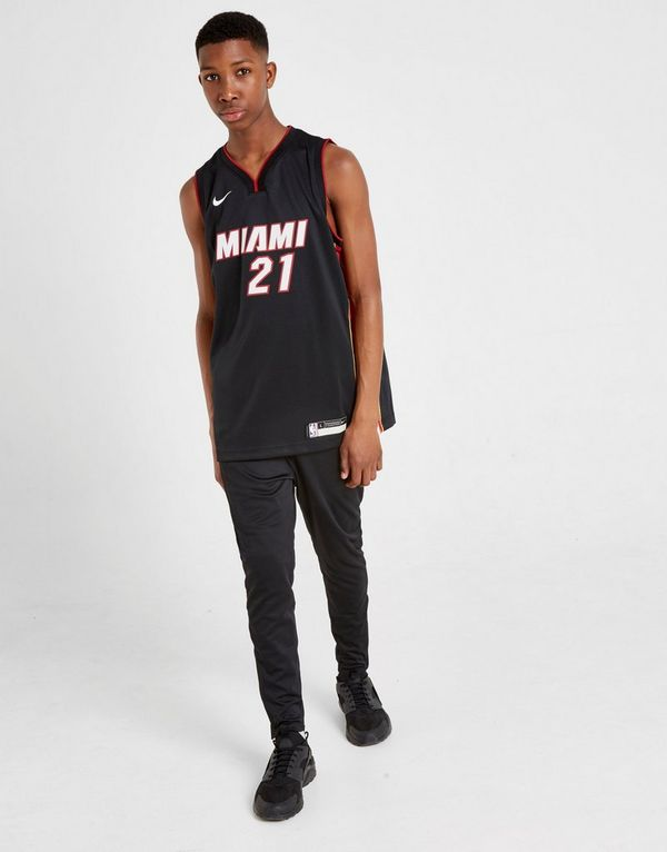 best service 0b016 e6f4f Nike NBA Whiteside Miami Heat Jersey Junior | JD Sports