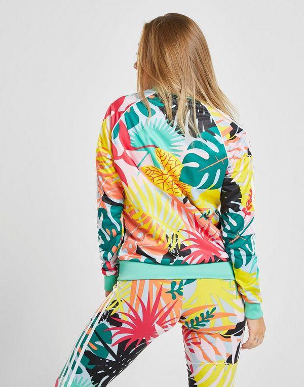 f23879c1c15e adidas Originals chaqueta de chándal Tropical All Over Print | JD Sports