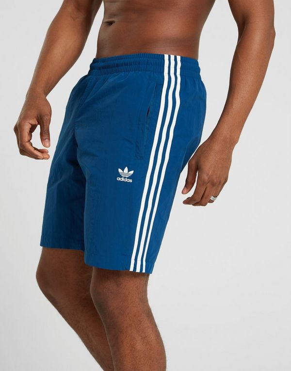 e8edb36be8 adidas Originals 3-Stripes Swim Shorts | JD Sports