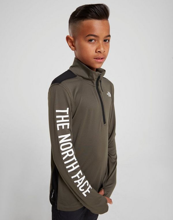 751298a7e The North Face Reactor 1/4 Zip Top Junior | JD Sports