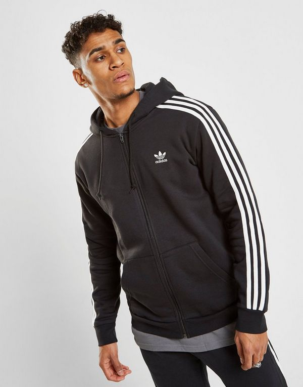 17a0b30f2 adidas Originals 3-Stripes Full Zip Hoodie | JD Sports